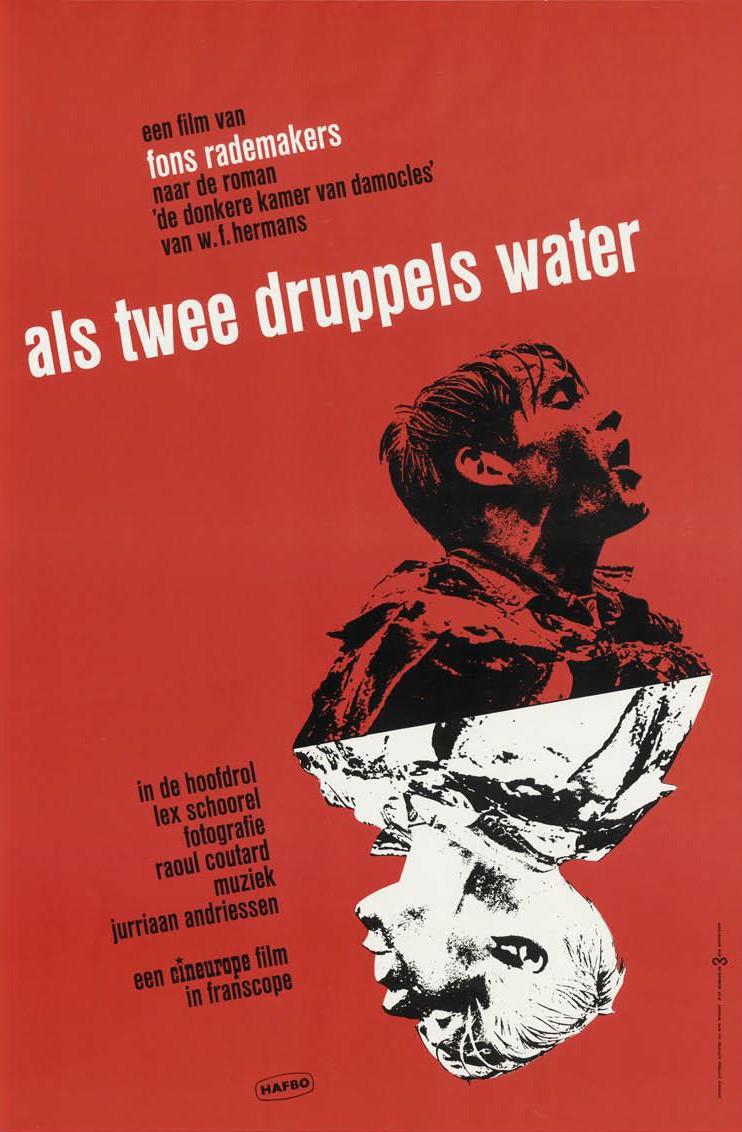 als-twee-druppels-water